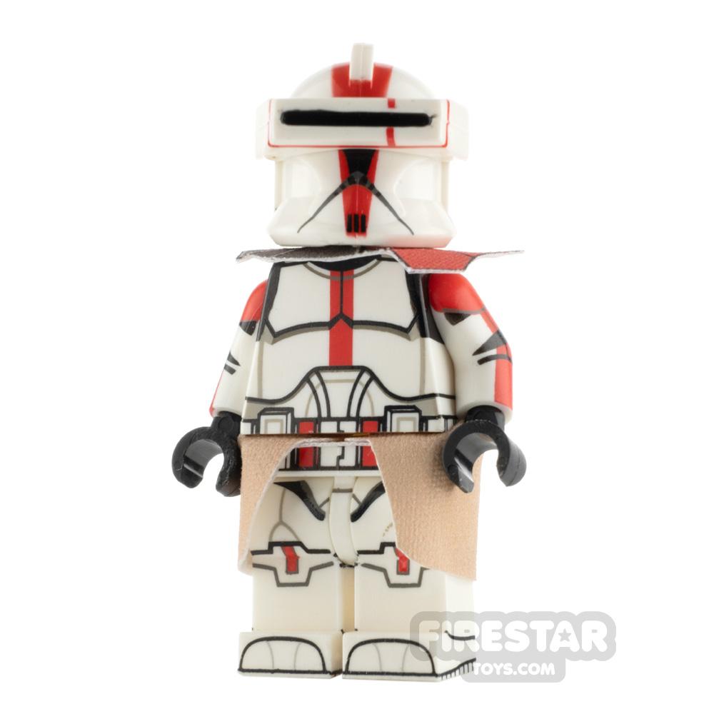 Custom Design Minifigure P1 Trooper Captain Deviss