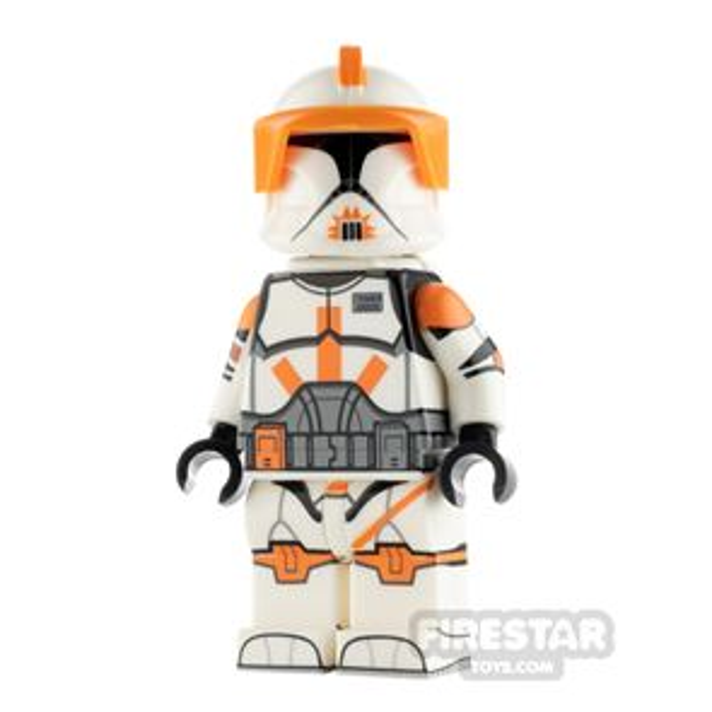 Custom Design Minifigure P1 Trooper Commander Cody