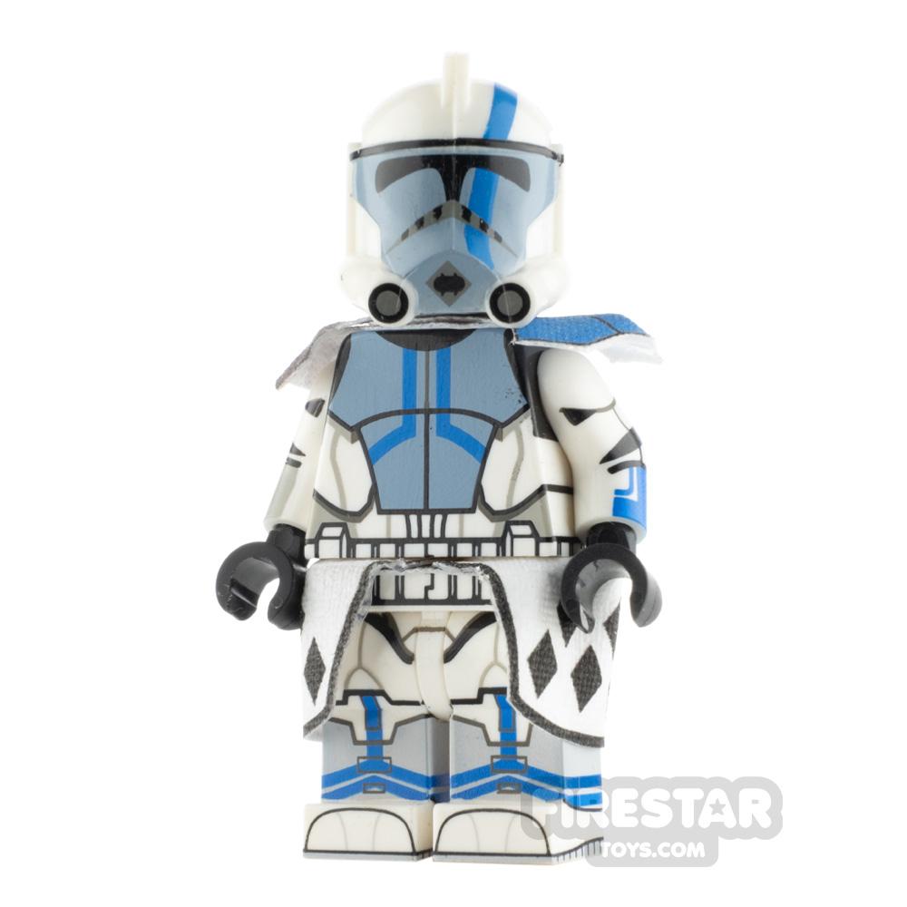 Custom Design Minifigure ARC Trooper Blitz Blue