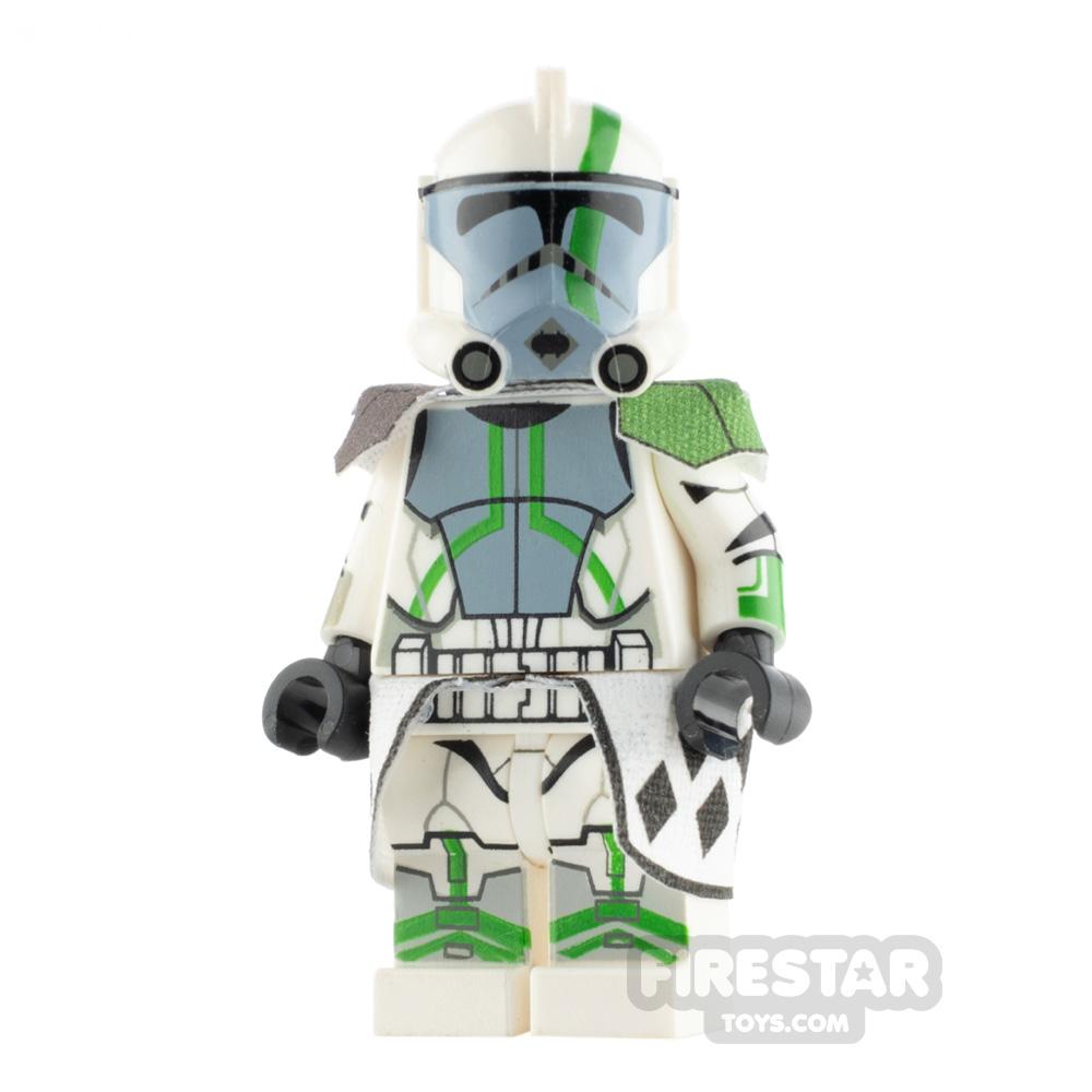 Custom Design Minifigure ARC Trooper Blitz Green