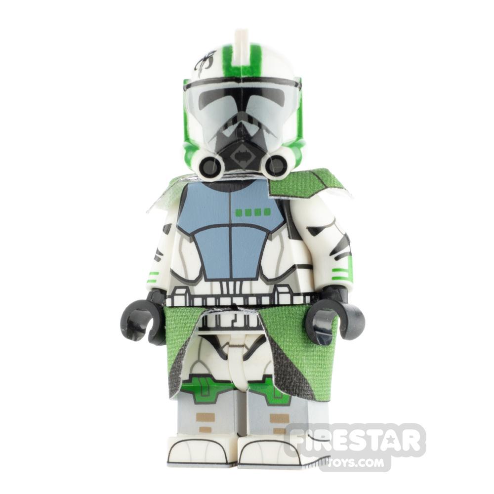 Custom Design Minifigure ARC Trooper Loco