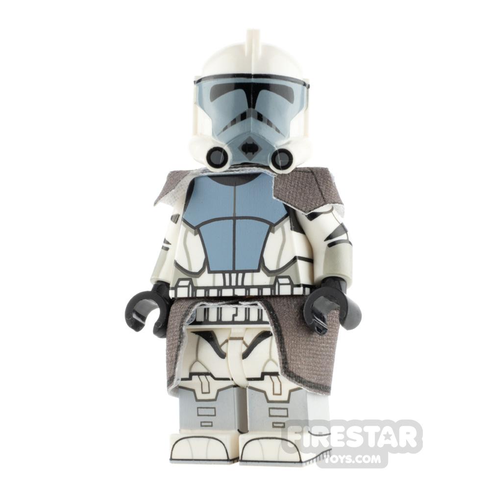 Custom Design Minifigure ARC Trooper Plain