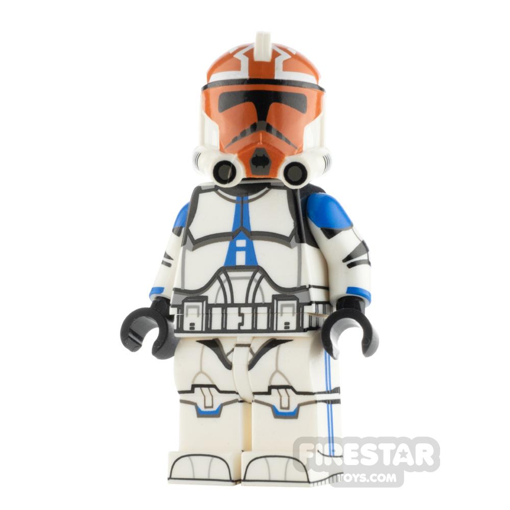 Custom Design Minifigure P2 Trooper 501st Ash