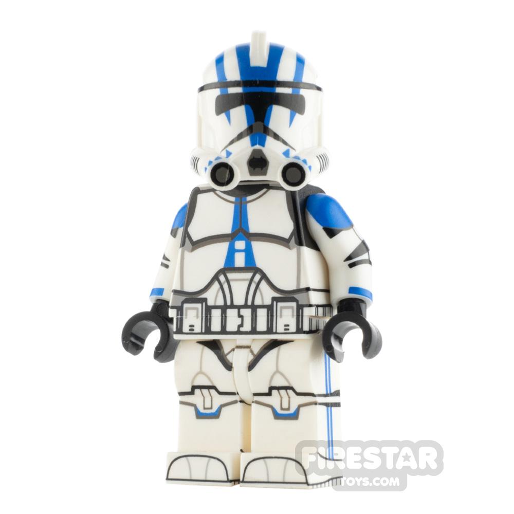 Custom Design Minifigure P2 Trooper 501st Lieutenant