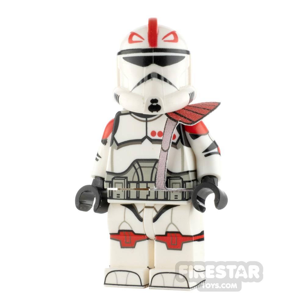 Custom Design Minifigure Recon Trooper Captain Fordo