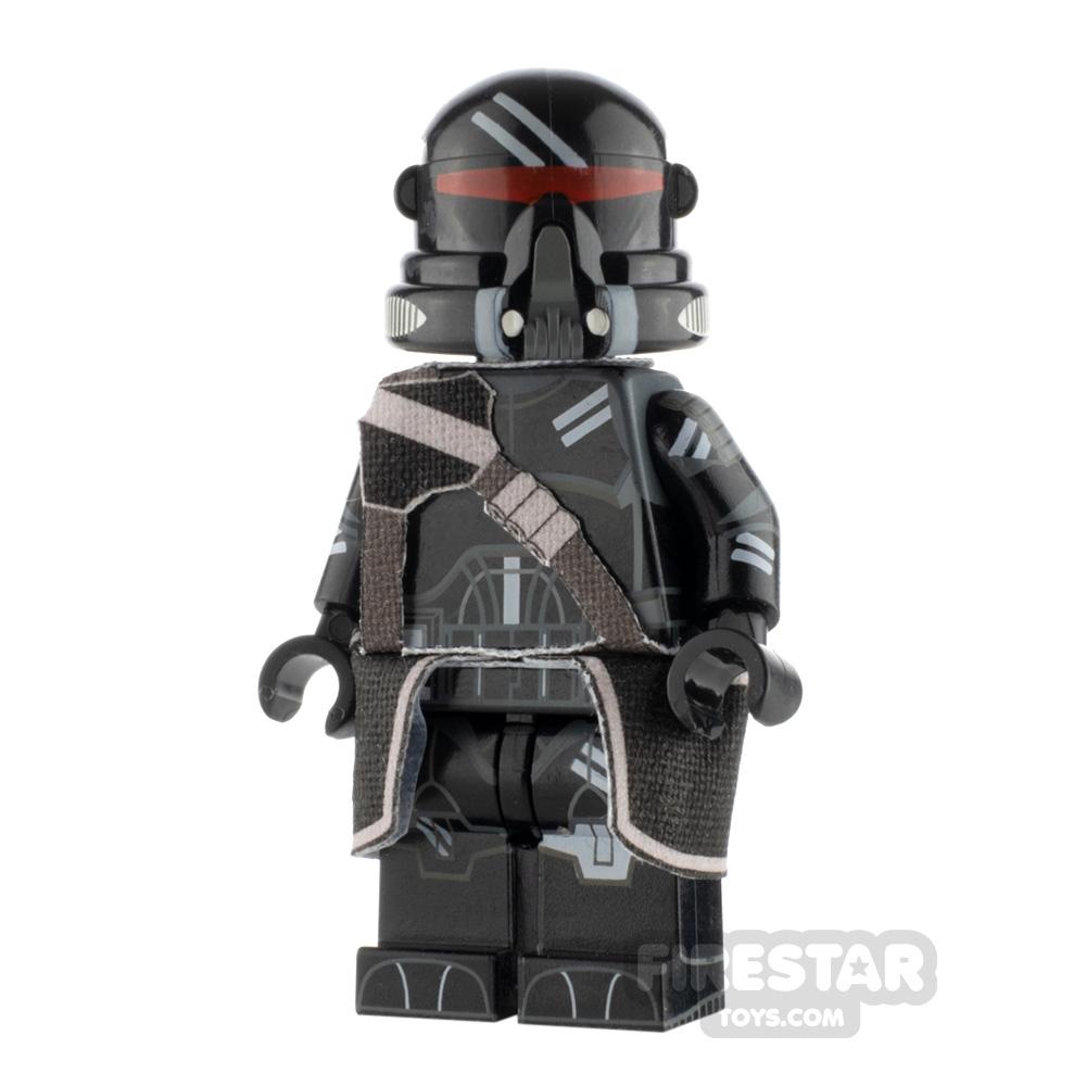 Custom Design Minifigure Airborne Trooper Shadow Trooper