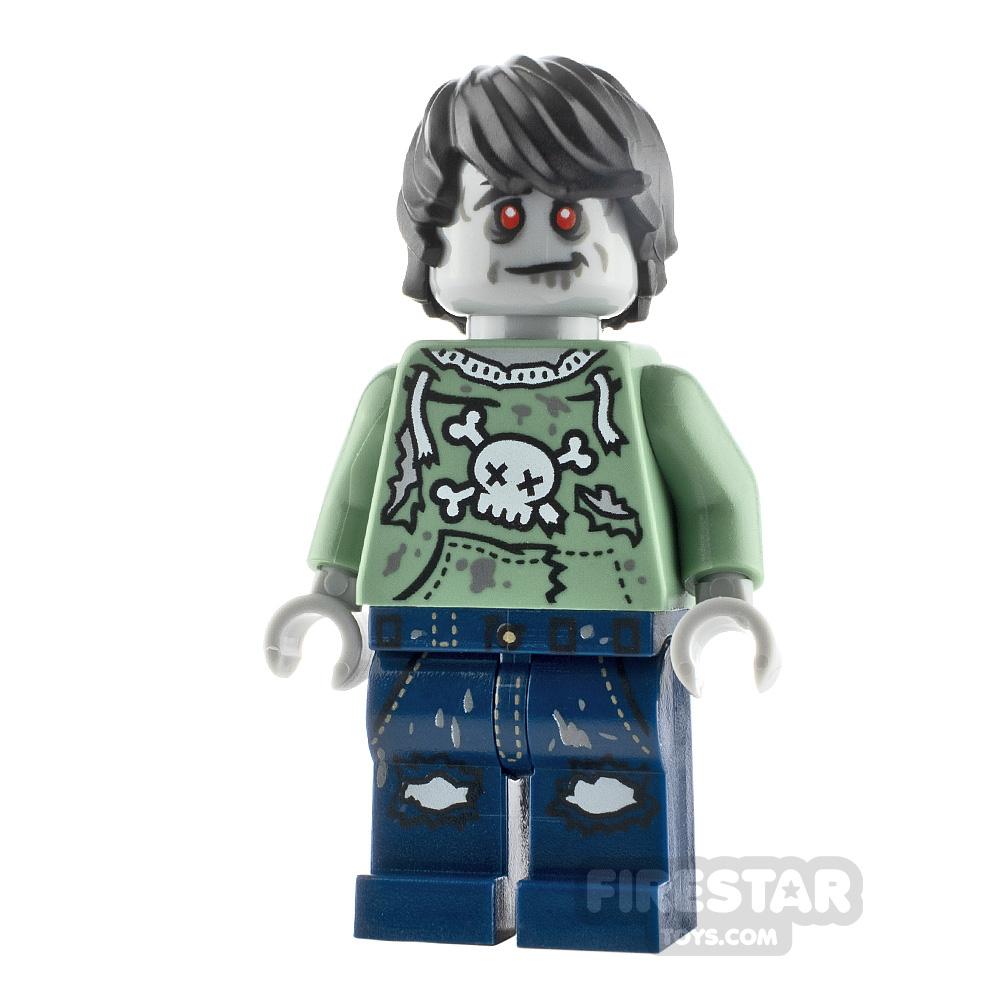LEGO Minifigures Zombie Skateboarder