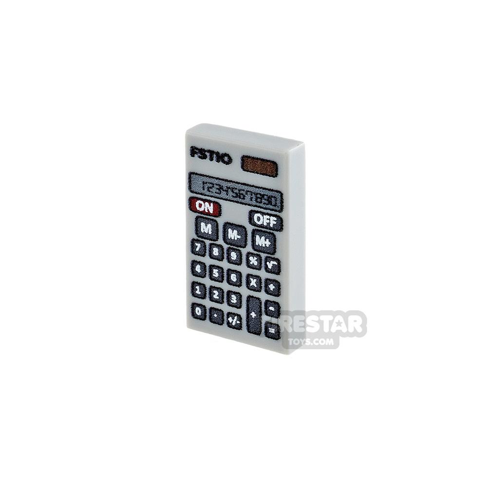 Printed Tile 1x2 - Calculator