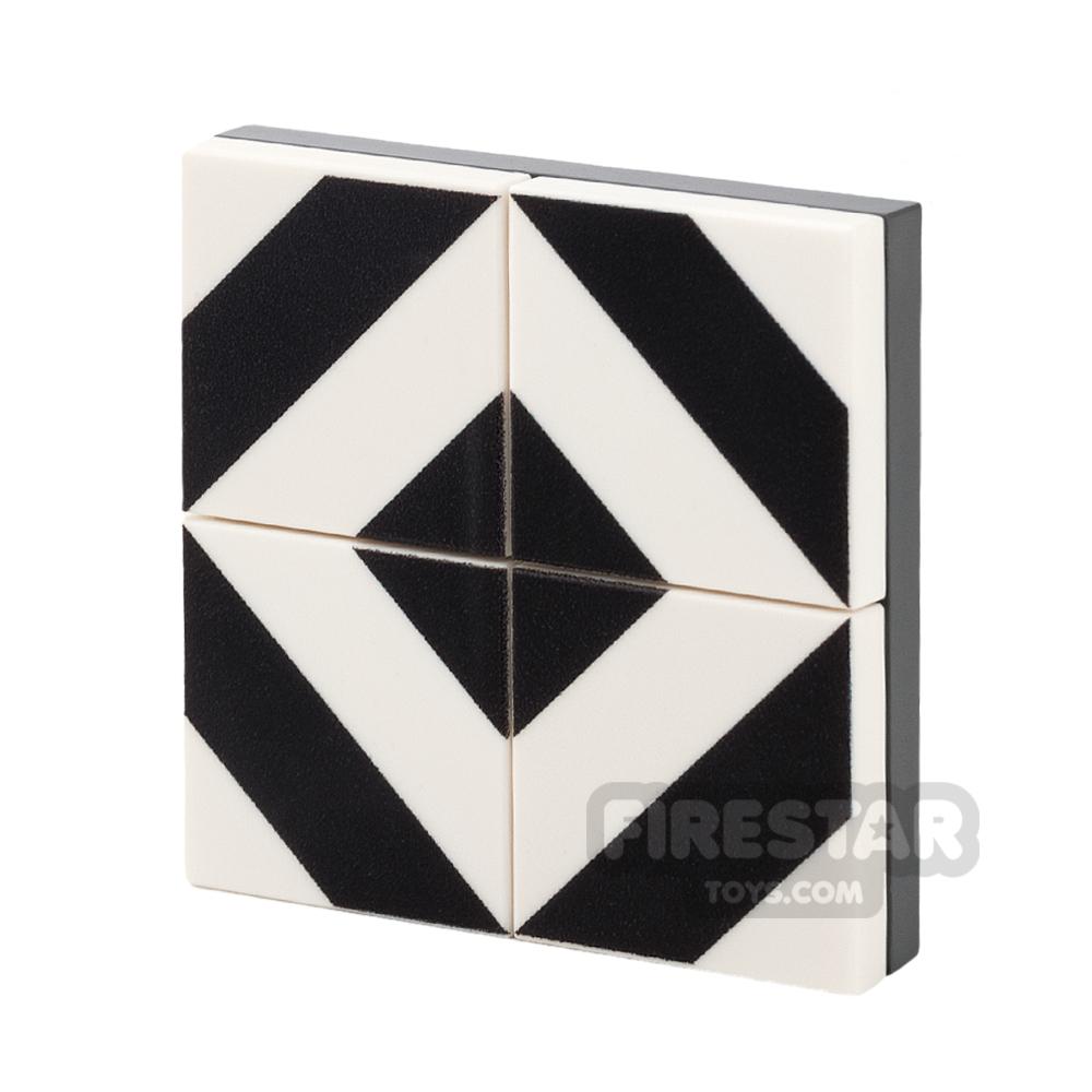 Floor Tile Pack - Diagonal Pattern Set