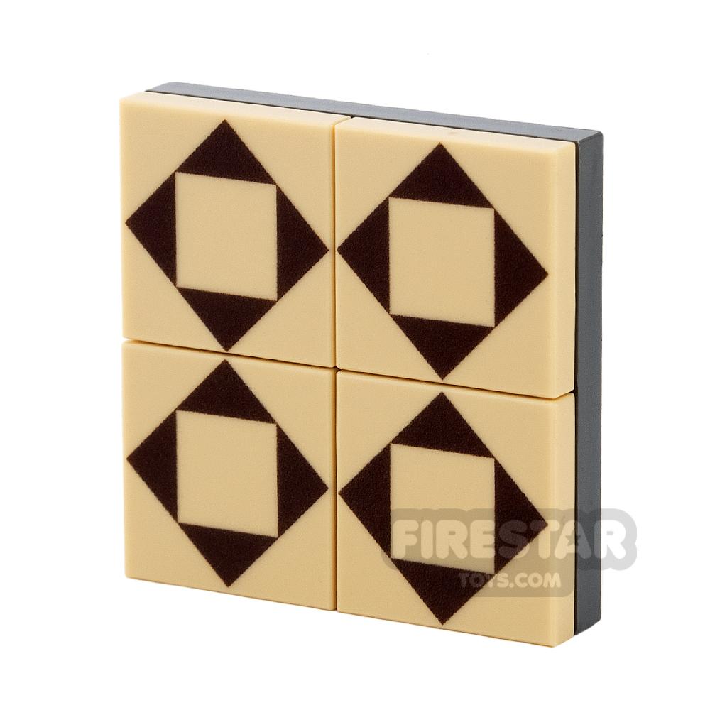 Floor Tile Pack - Triangle Pattern Set