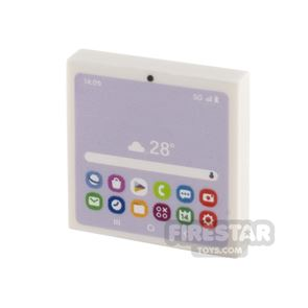 Printed Tile 2x2 Studsung Tablet