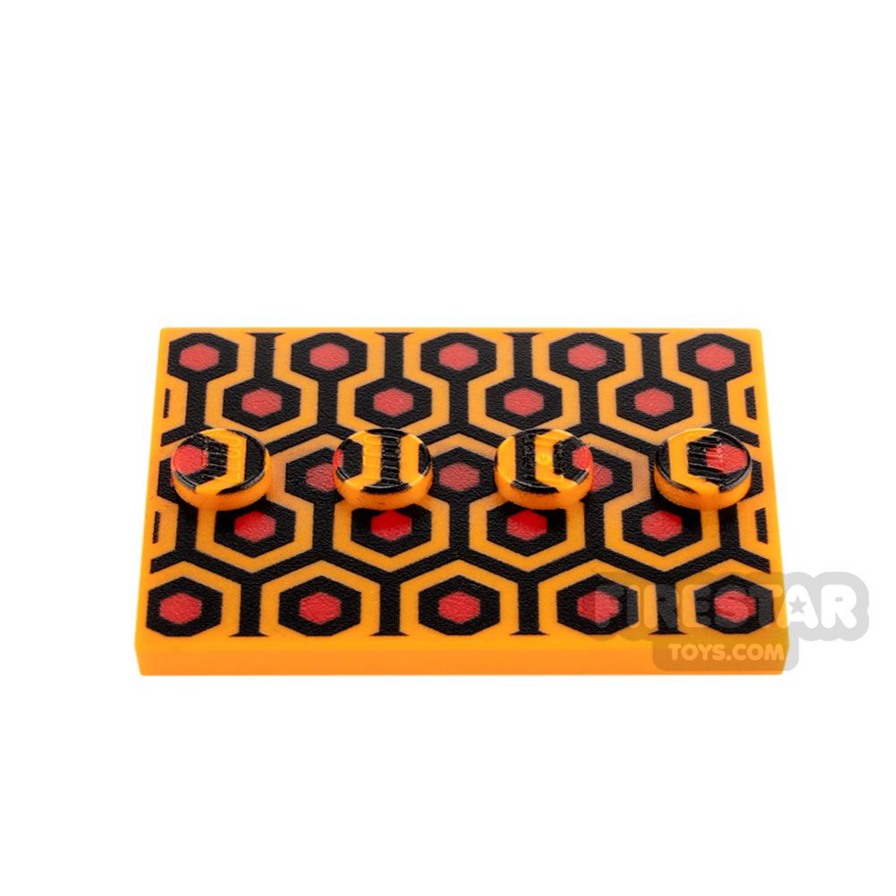 Custom Printed Minifigure Stand Hotel Carpet