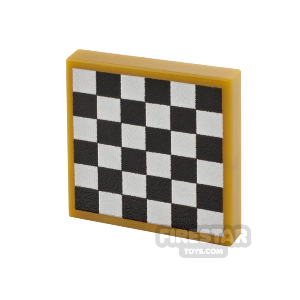 Printed Tile 2x2 Chess Board