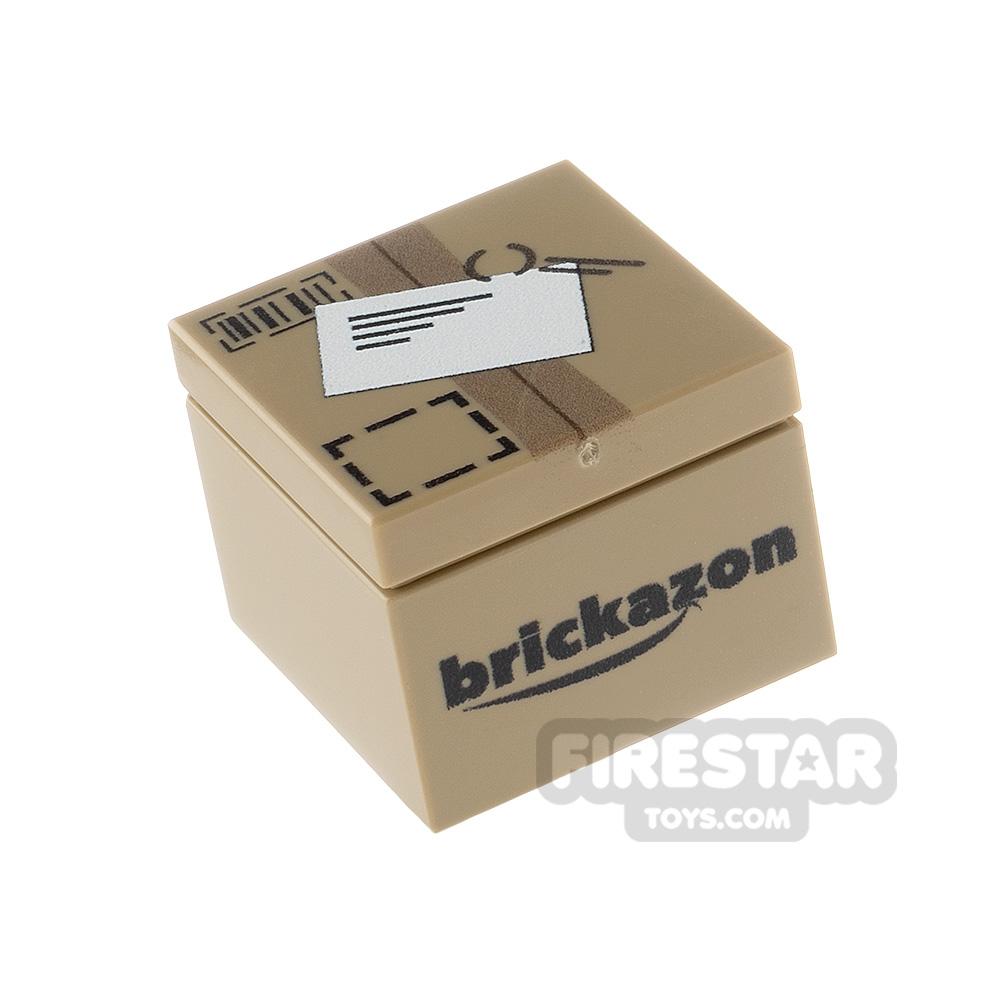 Printed Box 2x2 Brickazon Parcel