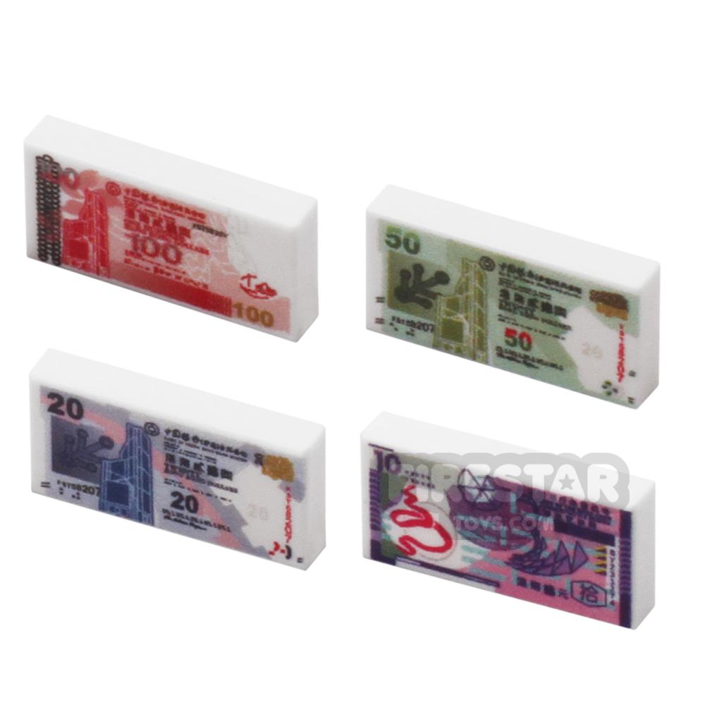 Small Money Pack - Set of Hong Kong Dollar Notes