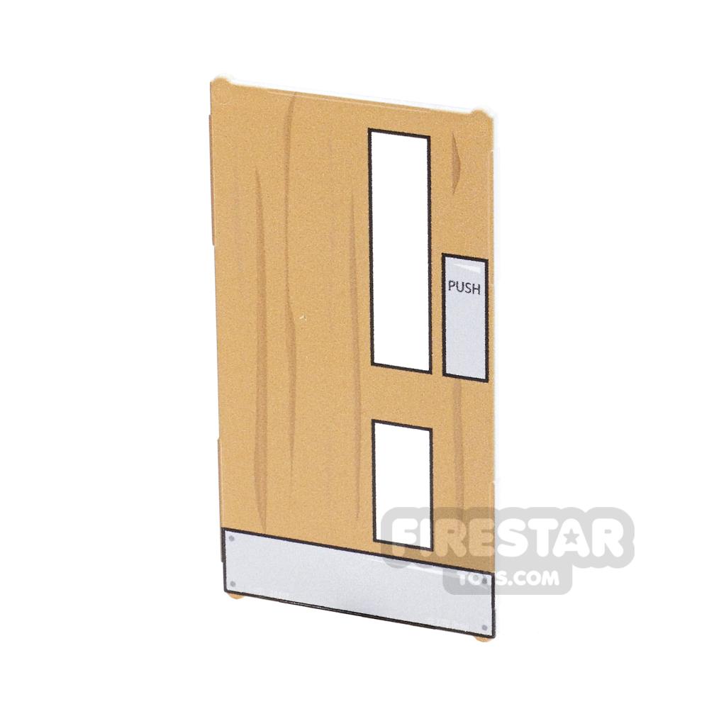 Printed Window Glass 1x4x6 - Wooden Internal Door