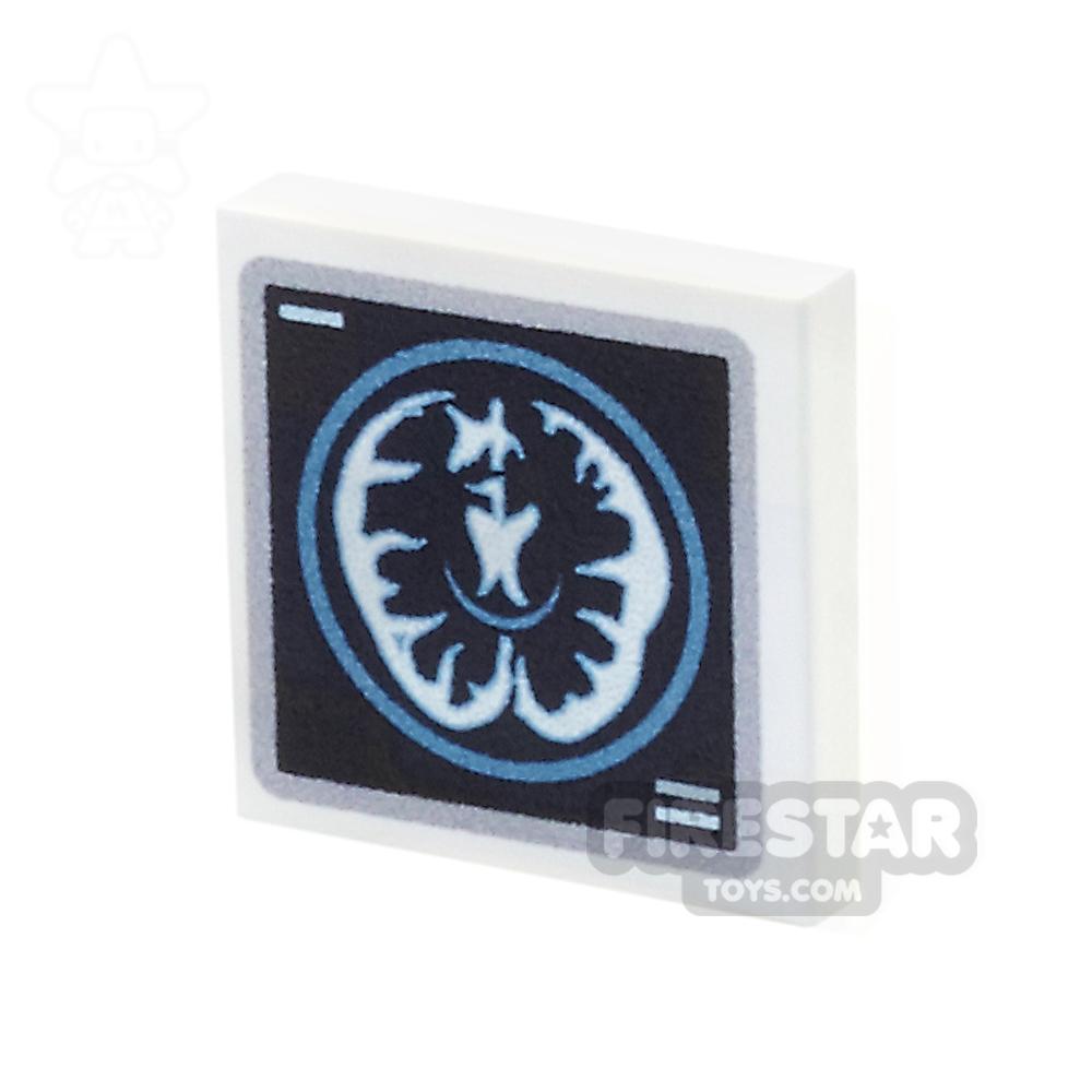 Printed Tile 2x2 - Brain Scan Monitor