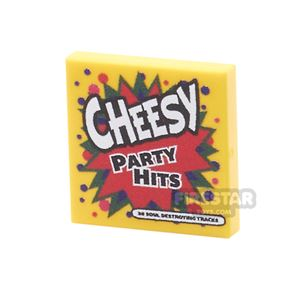 Printed Tile 2x2 - Cheesy Party Hits