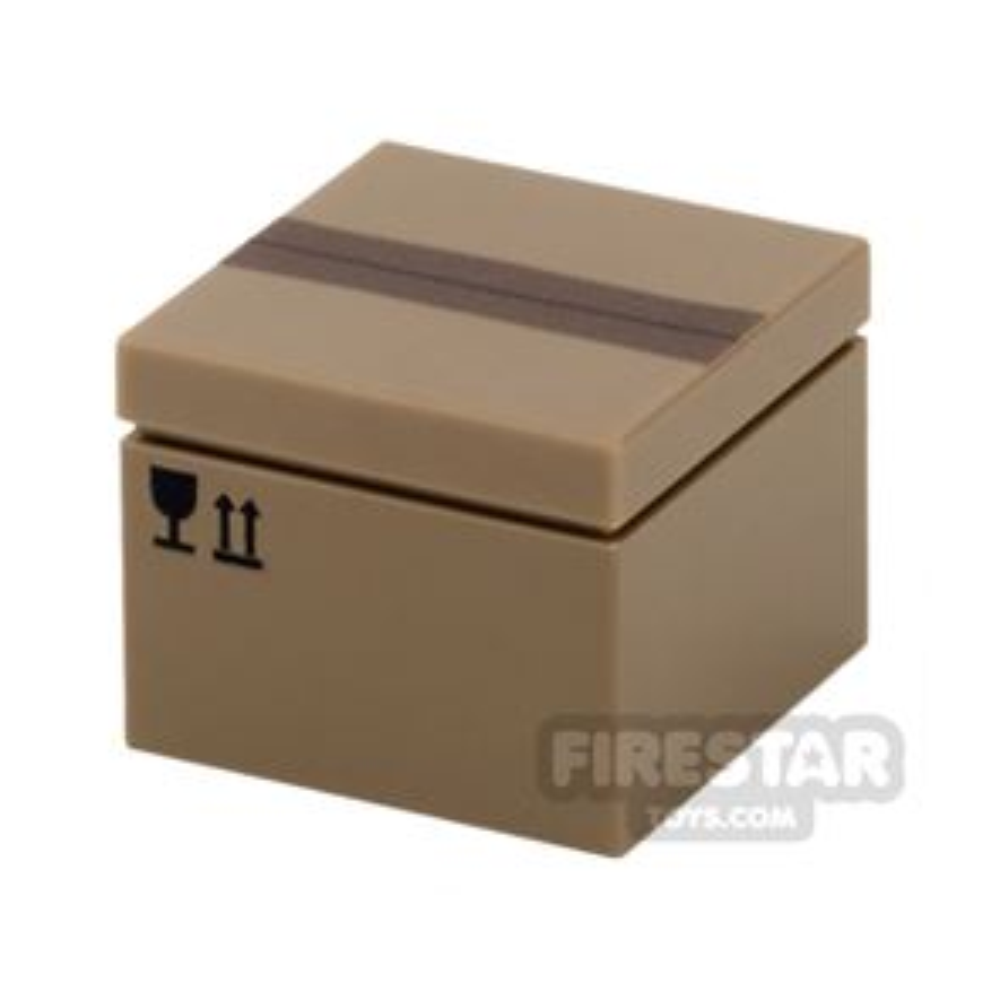 Printed Box 2x2 - Cardboard Box