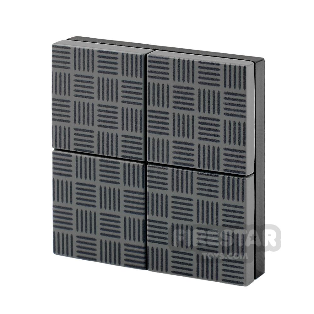 Floor Tile Pack Steel Plate Set