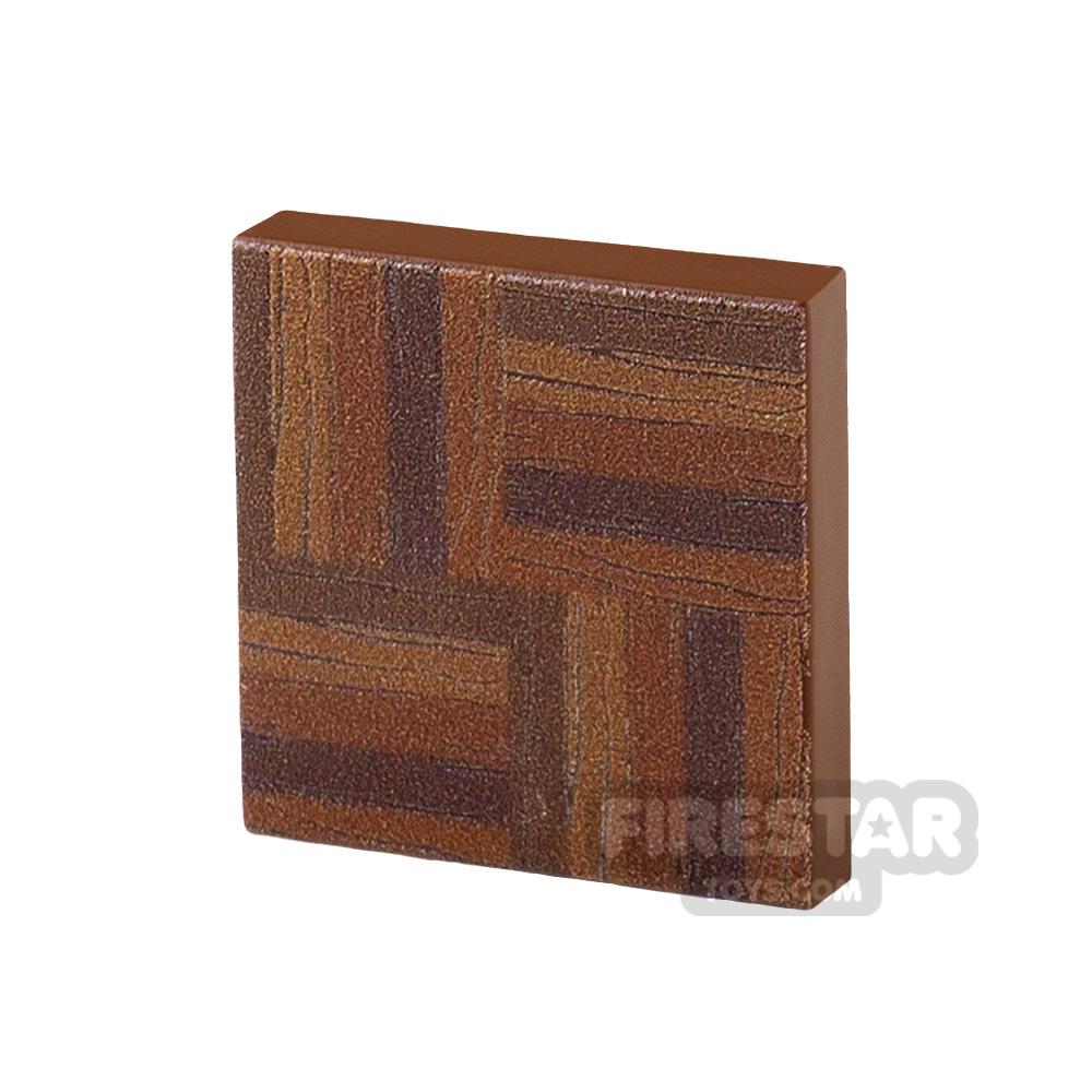 Printed Tile 2x2 Floor Tile Parquet