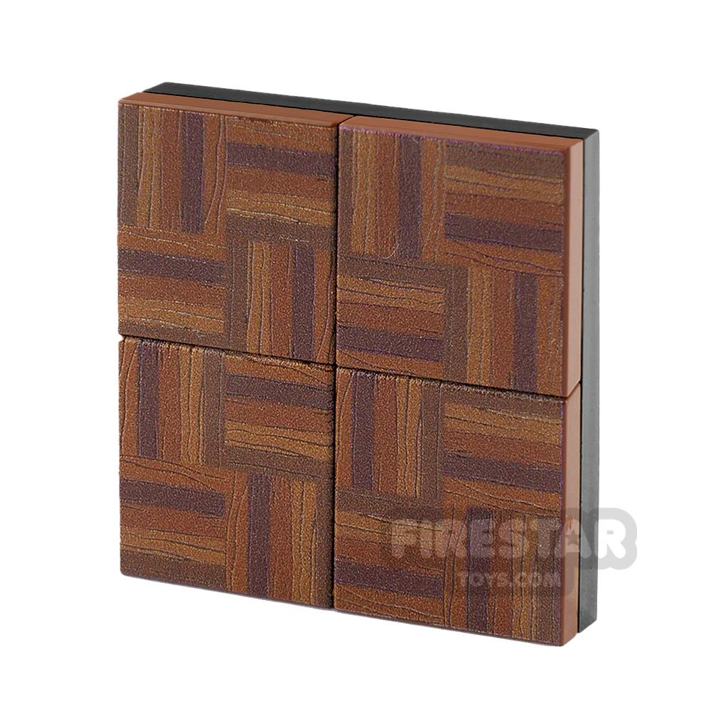 Floor Tile Pack Parquet Set