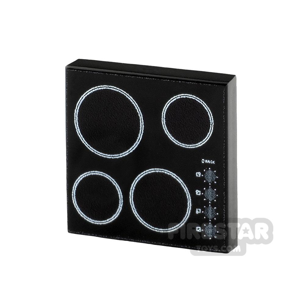 Printed Tile 2x2 Oven Hob