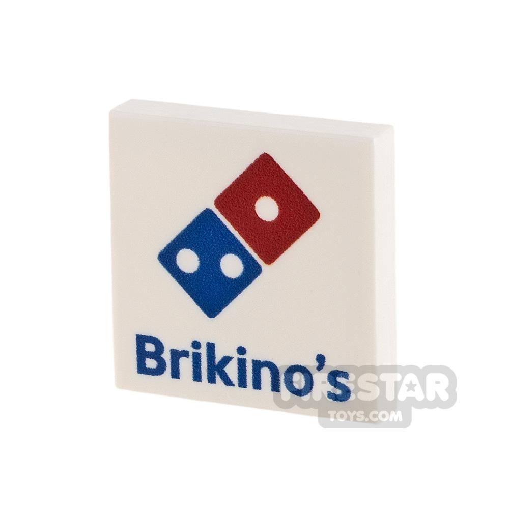 Printed Tile 2x2 Brickino's