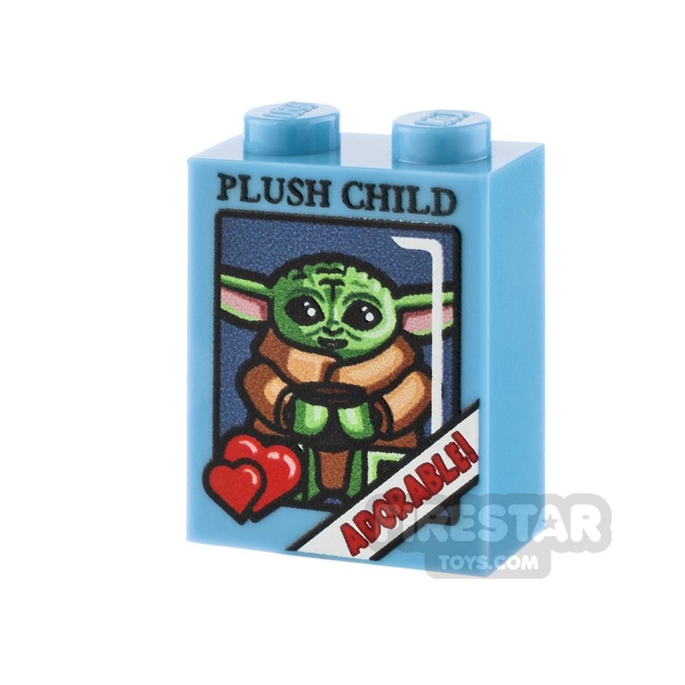 Printed Brick 1x2x2 - SW The Child Plush Box