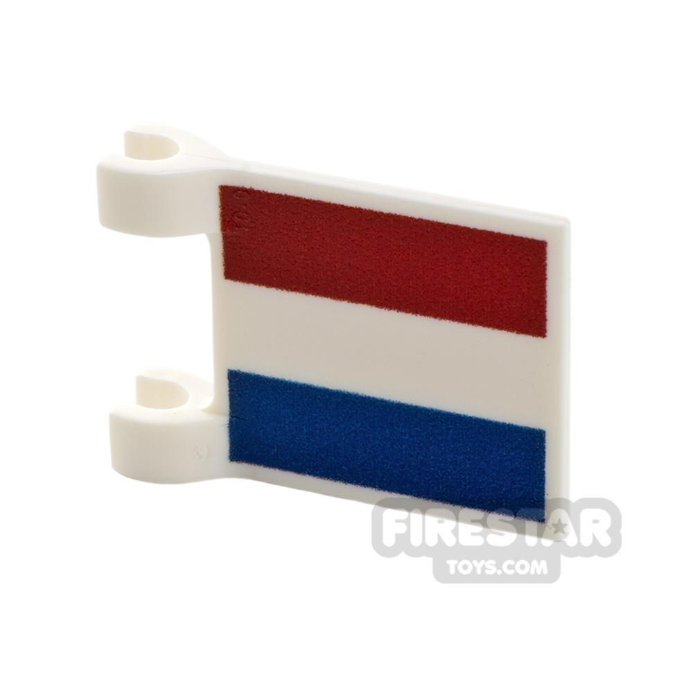 Printed Flag with 2 Holders 2x3 Dutch Flag