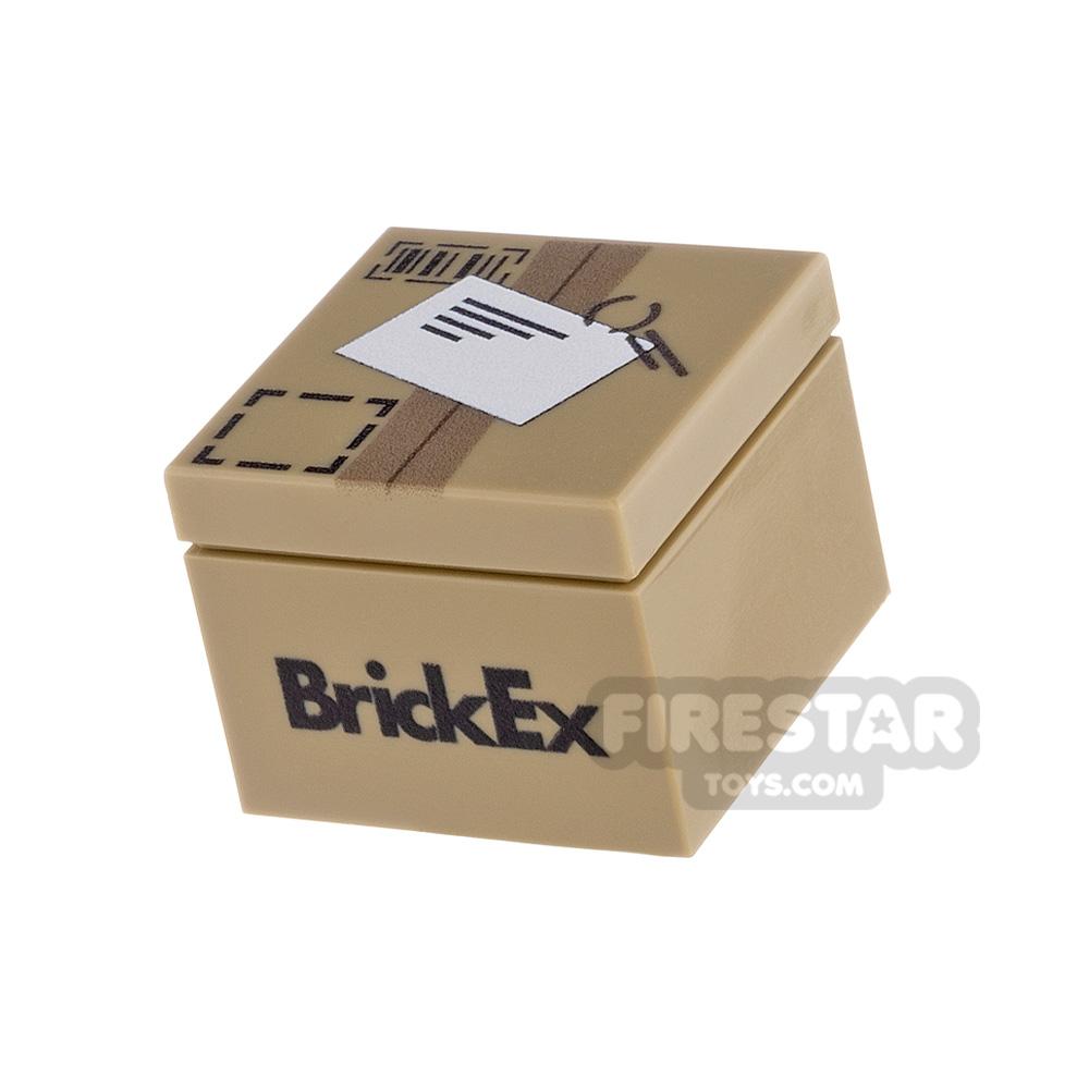 Printed Box 2x2 BrickEx Parcel