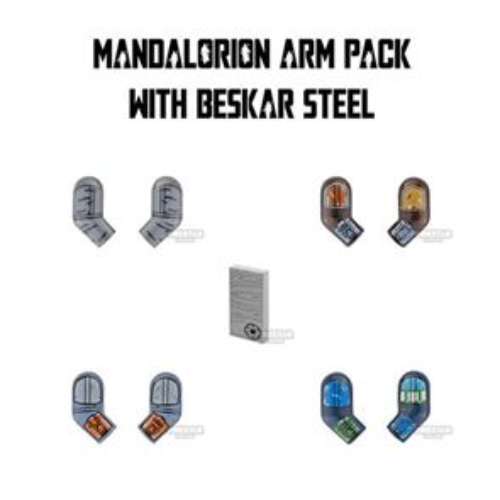 Custom Design Arms SW Mandalorian Warrior Pack