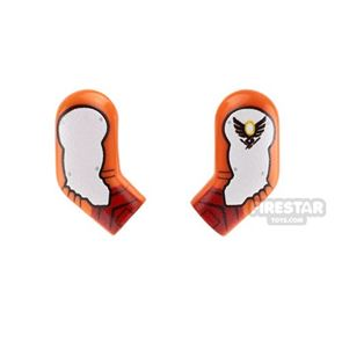 Custom Design Arms - Overwatch - Mercy - Orange