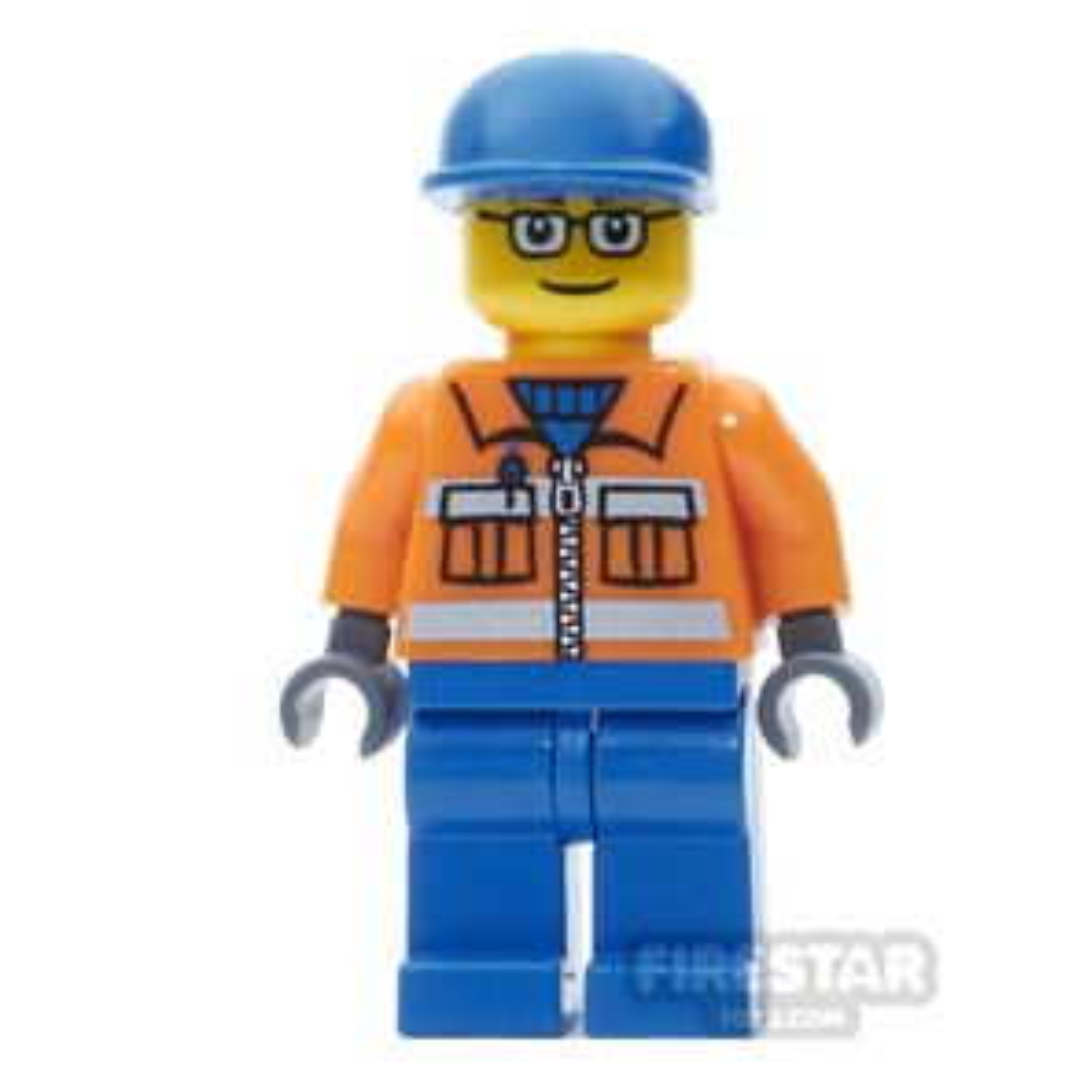 LEGO City Mini Figure - Cargo Plane Ground Crew