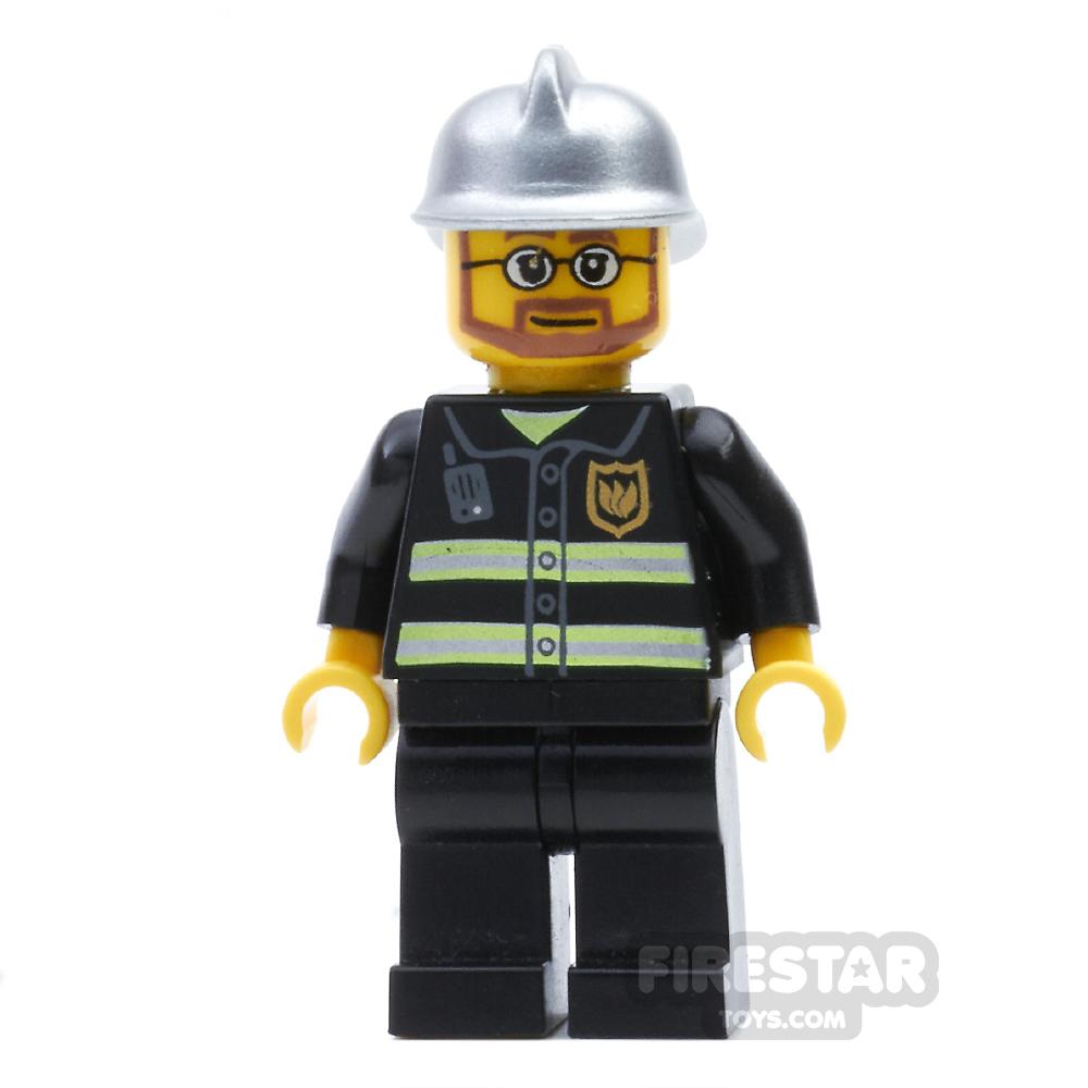 LEGO City Mini Figure - Fire - Hovercraft Pilot