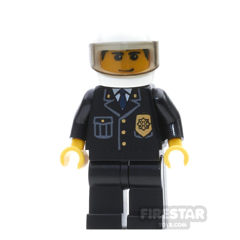 Lego City Mini Figure – Police - White Helmet