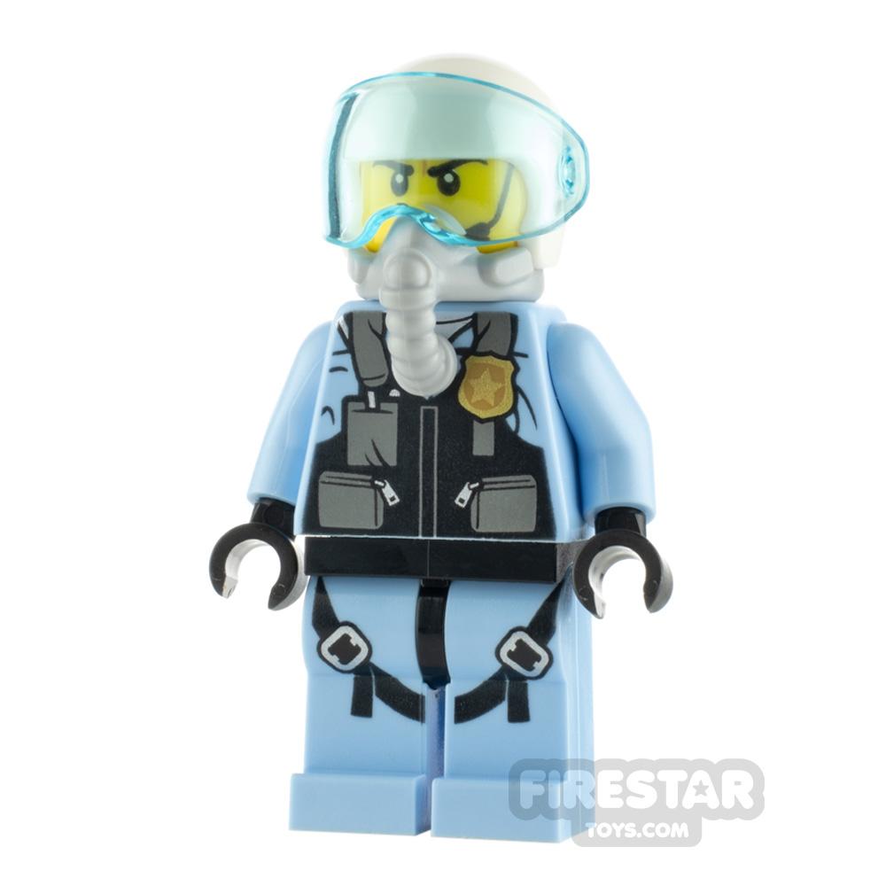 LEGO City Minifigure Jet Pilot with Oxygen Mask