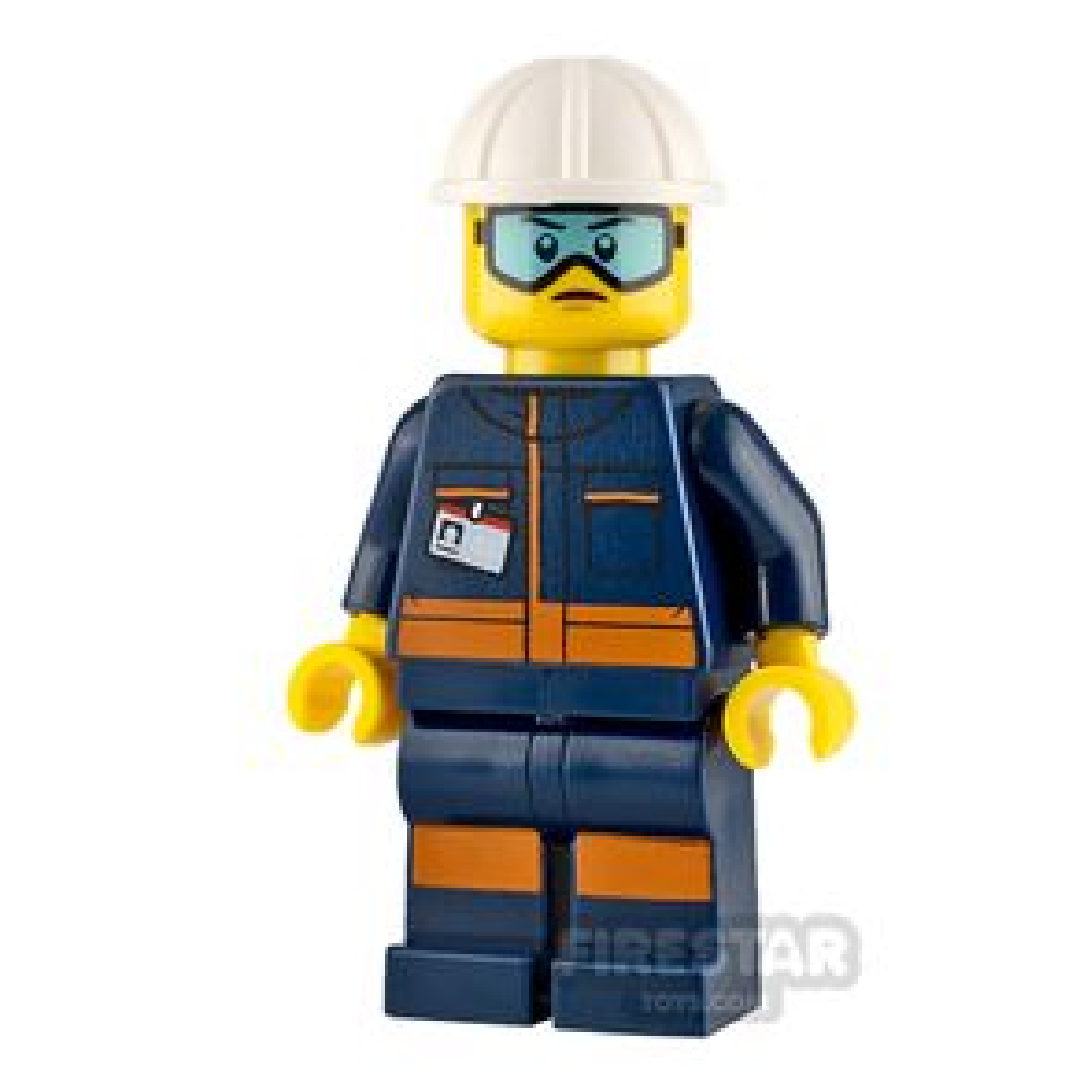 LEGO City Minifigure Ground Crew Technician