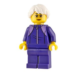 LEGO City Minifigure Grandmother with Tracksuit