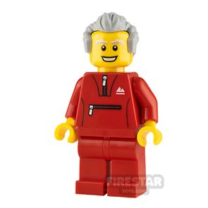 LEGO City Minifigure Grandfather with Tracksuit