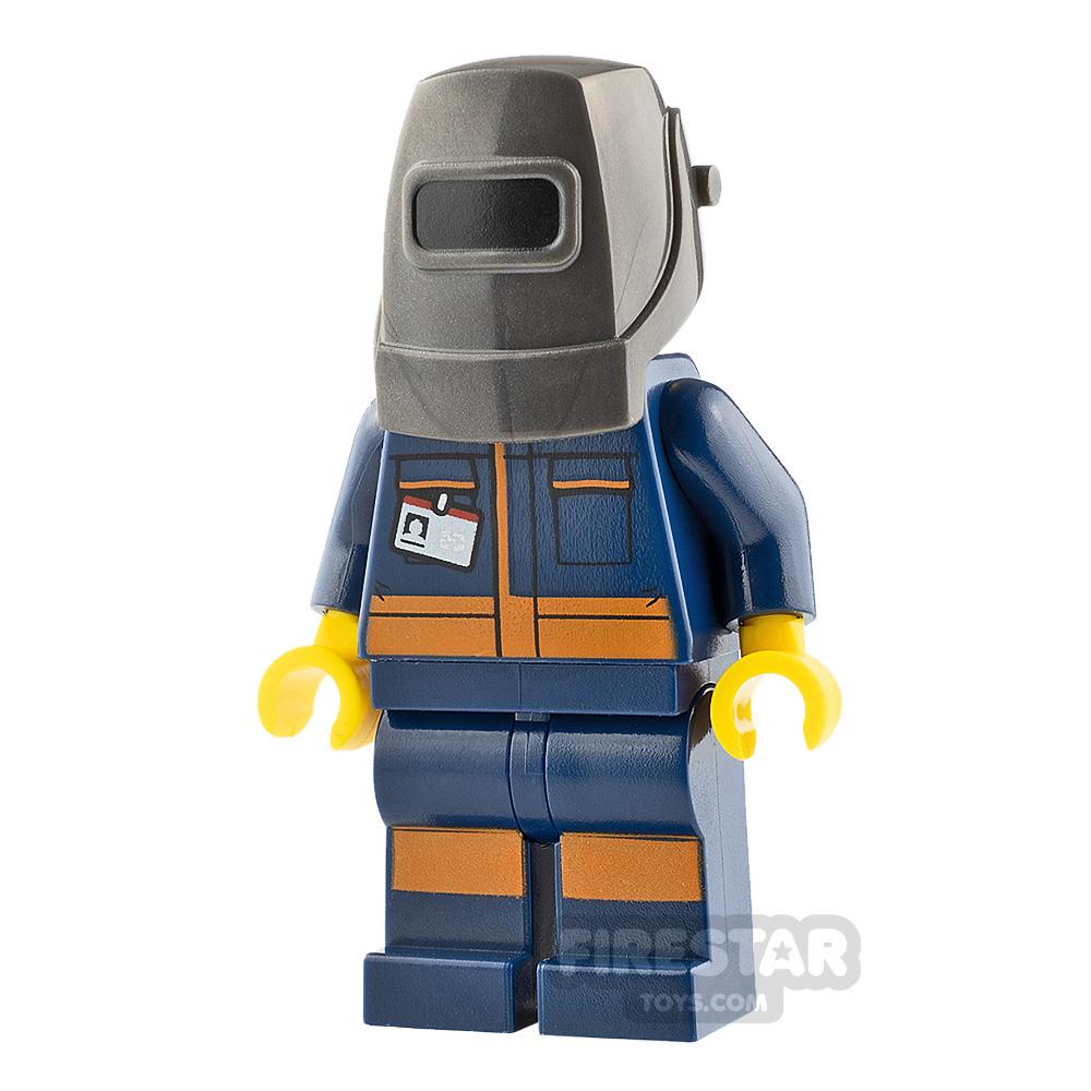 LEGO City Minifigure Engineer with Welding Mask