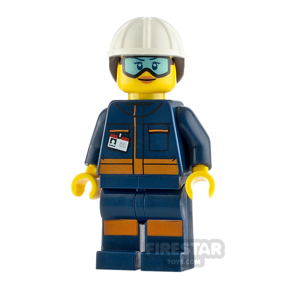 LEGO City Minfigure Rocket Engineer Female