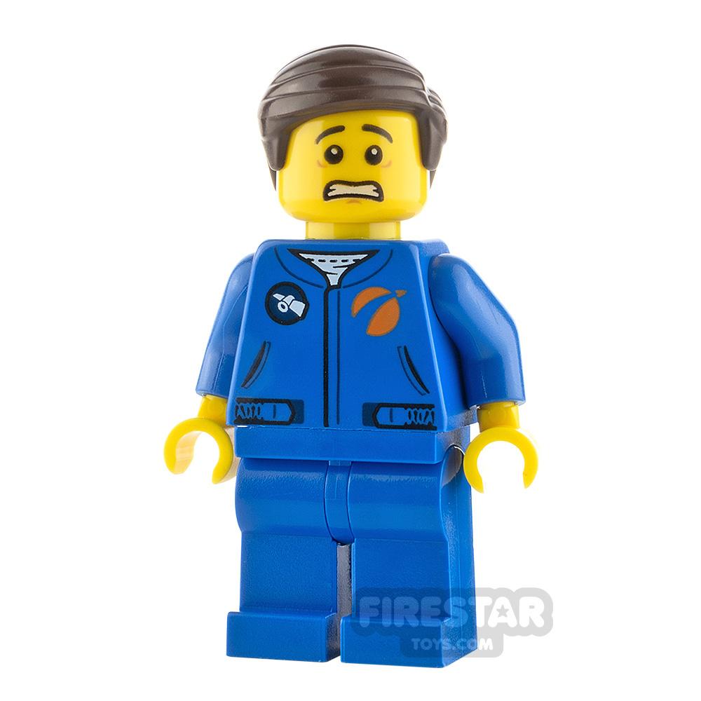 LEGO City Minifigure Male Astronaut Scared