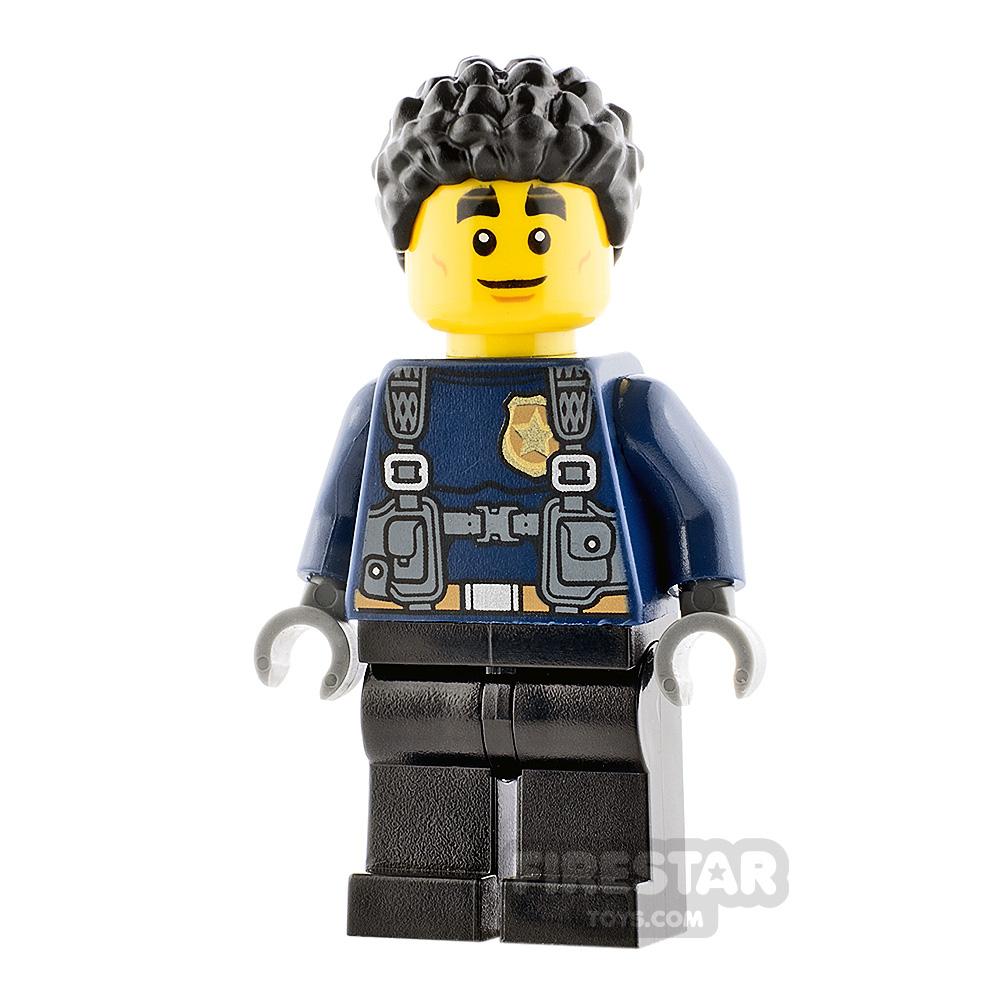 LEGO City Minifigure Duke DeTain Long Sleeves
