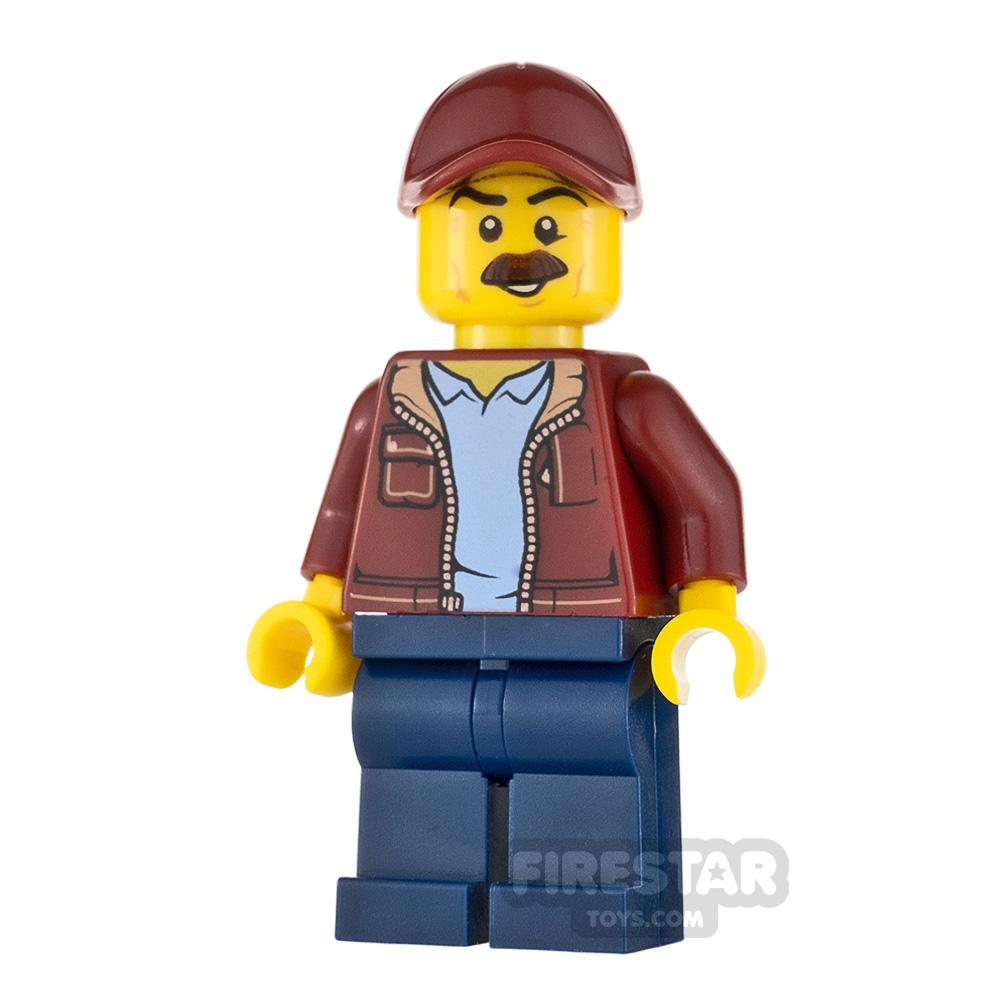 LEGO City Minifigure Taxi Driver Bomber Jacket