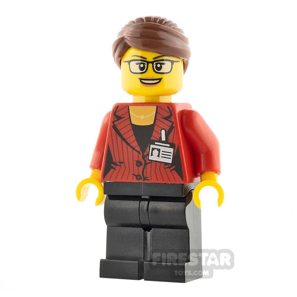 LEGO City Minifigure Reporter