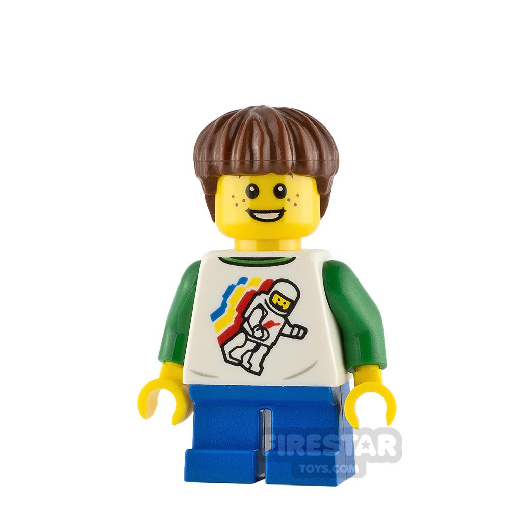 LEGO City Minifigure Boy Classic Space Shirt