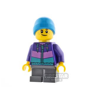 LEGO City Minifigure Jacket and Beenie Hat