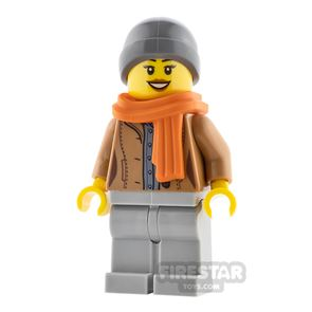 LEGO City Minifigure Jacket and Scarf