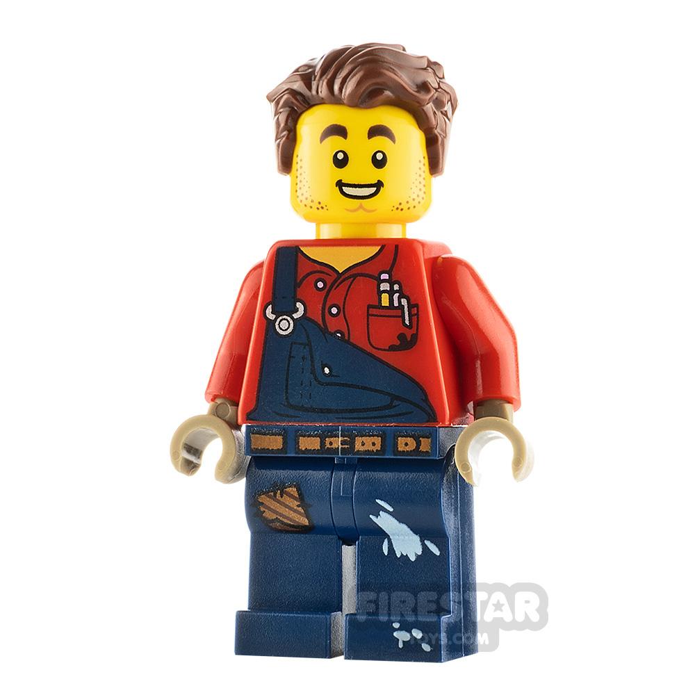 LEGO City Minfigure Harl Hubbs without Utility Belt